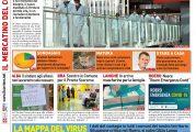 Le prima pagina del Corriere in edicola lunedi 30 marzo