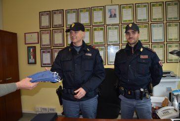Sarta di Vignolo dona cinquanta mascherine agli agenti della Polizia di Stato di Cuneo