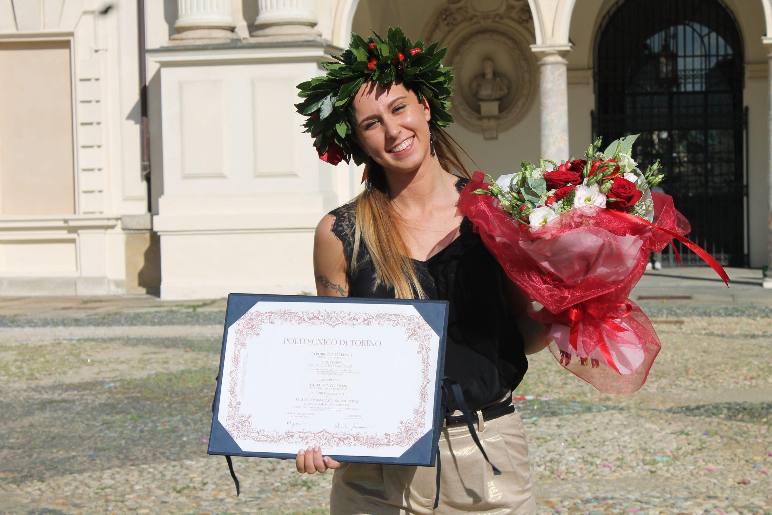 Il premio biennale di Laurea dei Cavalieri del Roero alla pocapagliese Ilaria Pontiglione