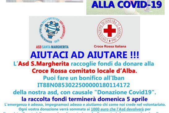 ASD Santa Margherita: un aiuto concreto alla Croce Rossa di Alba