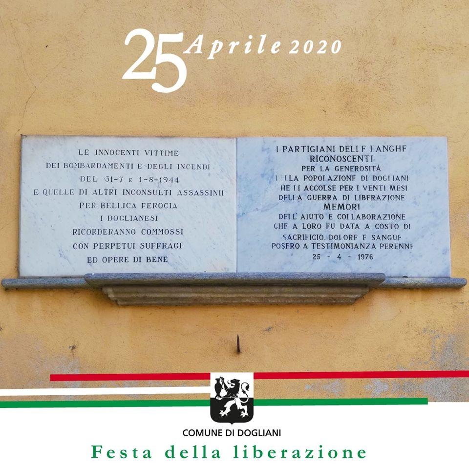 """Le """"pietre della memoria"""" per commemorare il 25 aprile a Dogliani"""