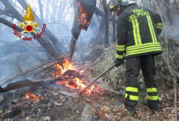 Massima pericolosità per incendi boschivi su tutto il Piemonte