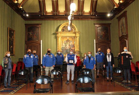 Alba: i sei motoclub albesi incontrano il sindaco per promuovere l'associazione Mettinmotolavita e la nuova lotteria benefica