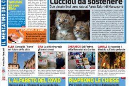La prima pagina del Corriere in edicola lunedì 18 maggio