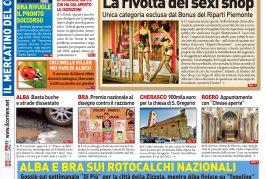 La prima pagina del Corriere in edicola lunedì 1 giugno