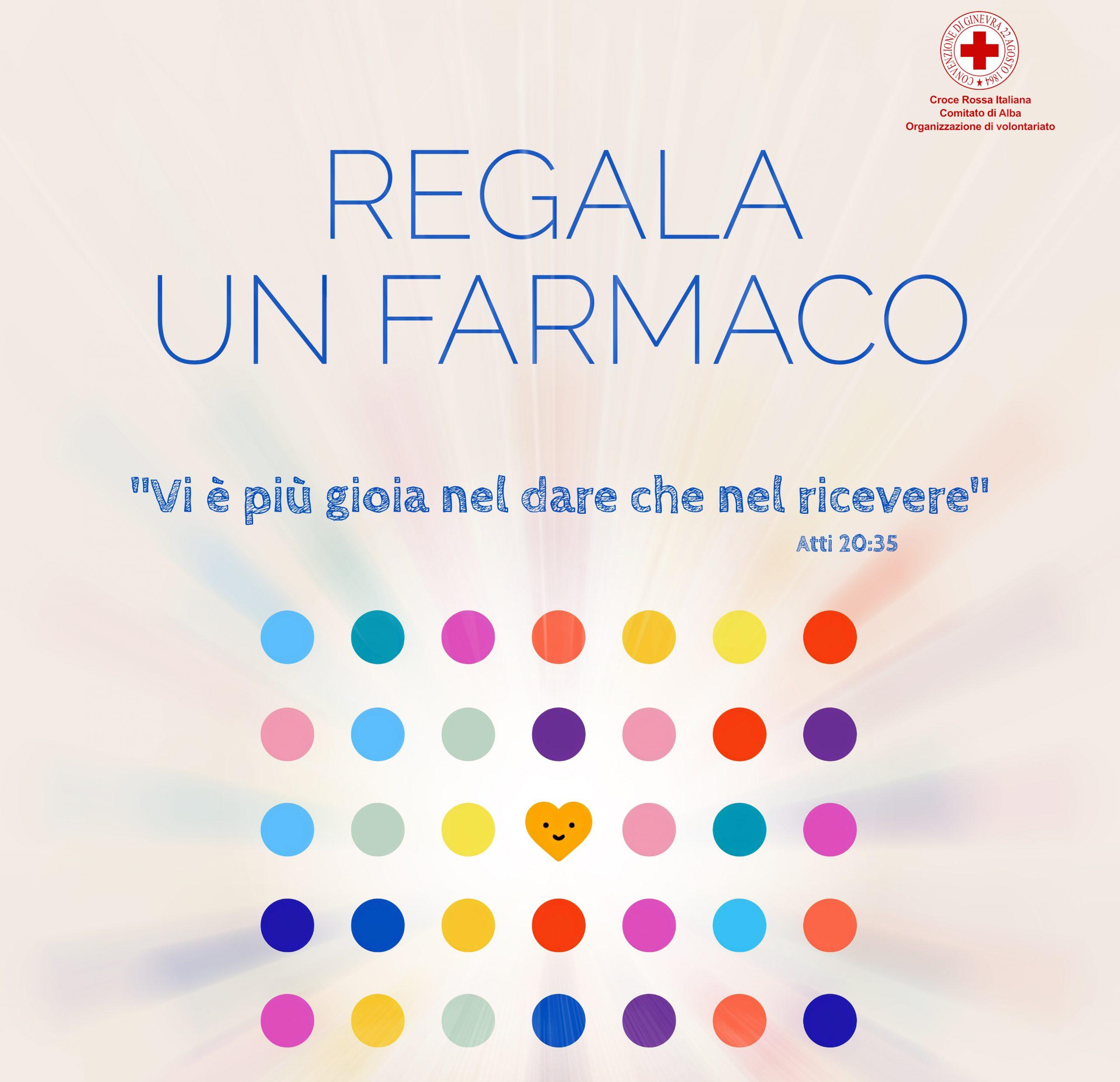 Croce Rossa Italiana: regaliamo un farmaco a chi ha bisogno