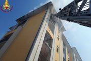 Fossano, incendio in un appartamento: salvati due anziani