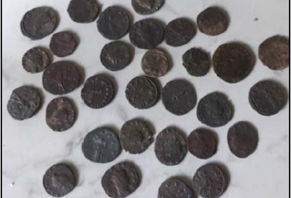 I Carabinieri di Asti recuperano Monete romane in vendita on line