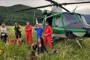 Due escursioniste in difficoltà salvate dai vigili del fuoco