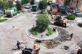 Alba: in corso i lavori di pavimentazione stradale intorno la rotatoria di Porta Tanaro