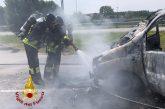Bra: furgone prende fuoco in frazione Bandito. Nessun ferito
