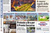 La prima pagina del Corriere in edicola lunedì 6 luglio