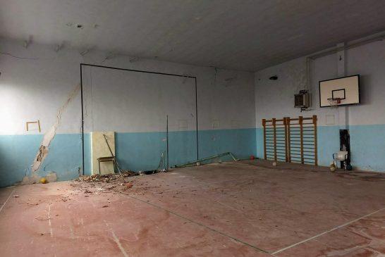 Costerà 53mila euro l'abbattimento della vecchia palestra del centro storico