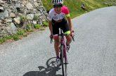 Alba: la ciclista Paola Gianotti in città con il suo Giro del Piemonte
