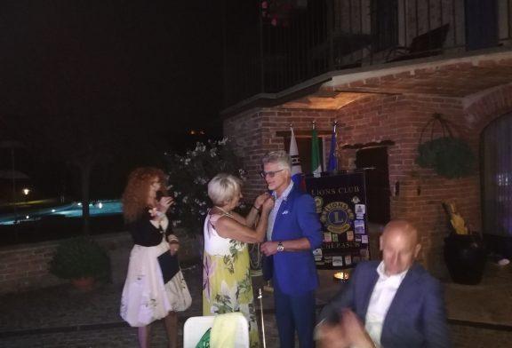 Franco Seghesio nuovo Presidente del Lions Club Cherasco